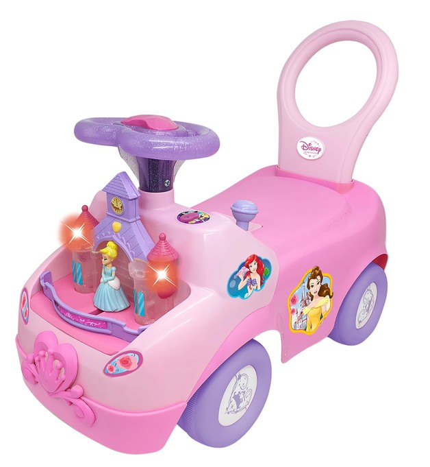 Kiddieland: Magical Castle Activity Ride-On - Disney Princess