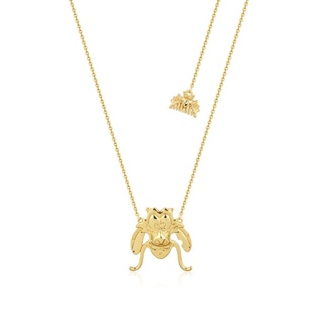 Couture Kingdom: Disney Mulan Mushu Necklace Yellow Gold