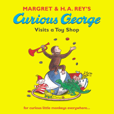 Curious George Visits a Toy Shop by Margret Rey image