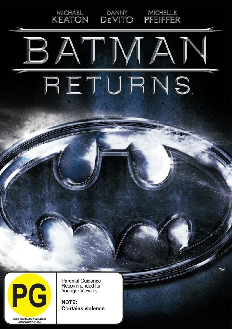 Batman Returns on DVD image