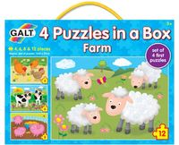 4 Puzzles in a Box: Farm - by Galt image