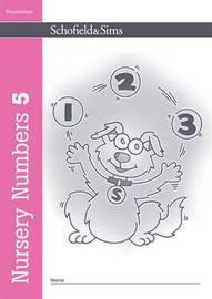 Nursery Numbers Book 5 by Sally Johnson image