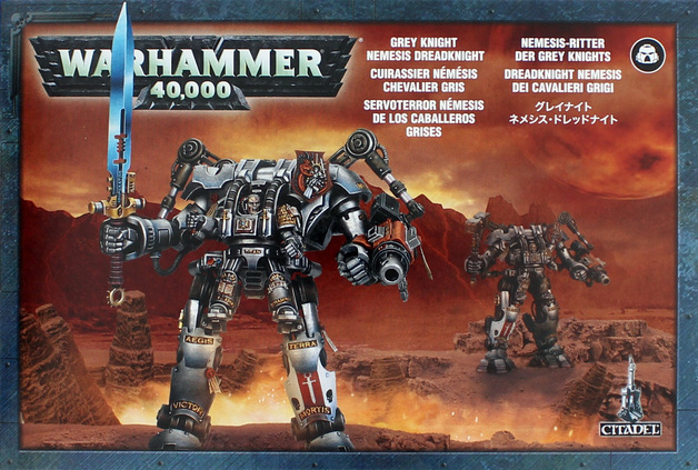 Warhammer 40,000 Grey Knights Nemesis Dreadknight