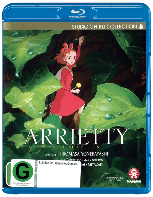 Arrietty (Special Edition) on Blu-ray