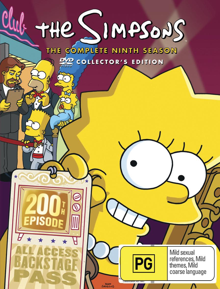 The Simpsons - Season 9 on DVD image