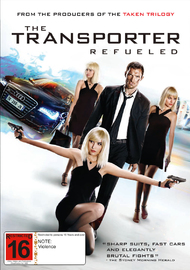 The Transporter: Refueled on DVD