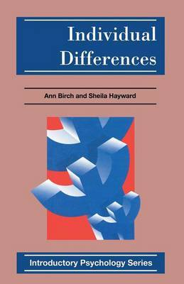Individual Differences by Ann Birch