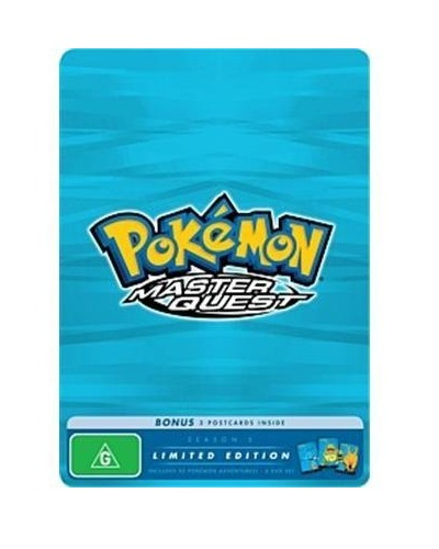 Pokemon: Season 5 - Master Quest (Limited Edition Tin Case) on DVD image