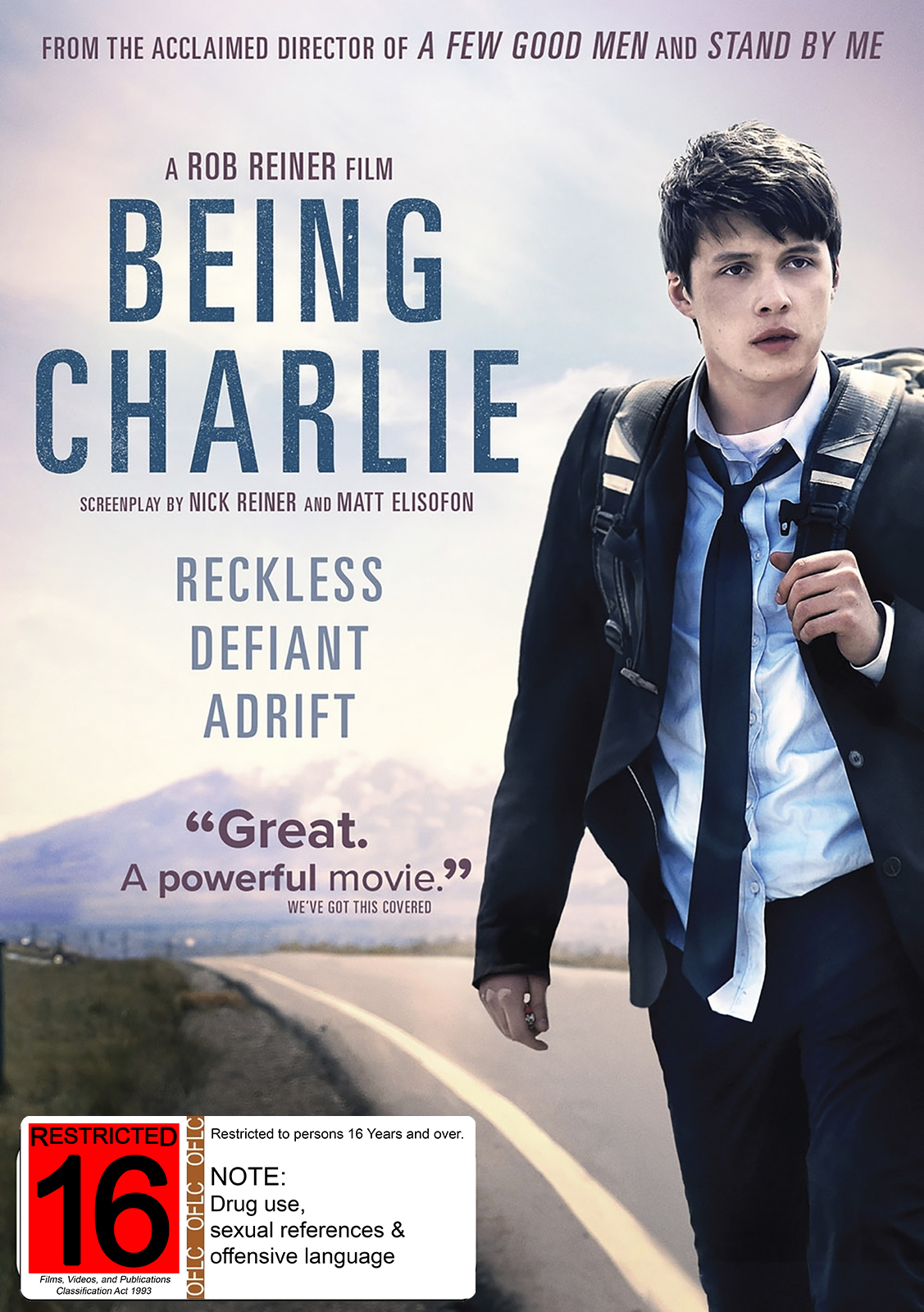 Being Charlie Dvd On Sale Now At Mighty Ape Nz