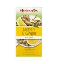 Healtheries Lemon & Ginger with Apple Tea (Pack of 20)
