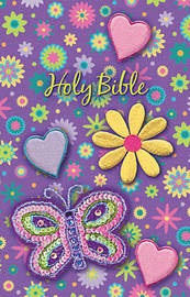 NKJV, Sequin Bible, Flexcover, Purple by Thomas Nelson