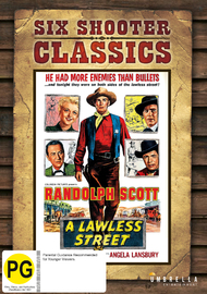 A Lawless Street (Six Shooter Classics) on DVD