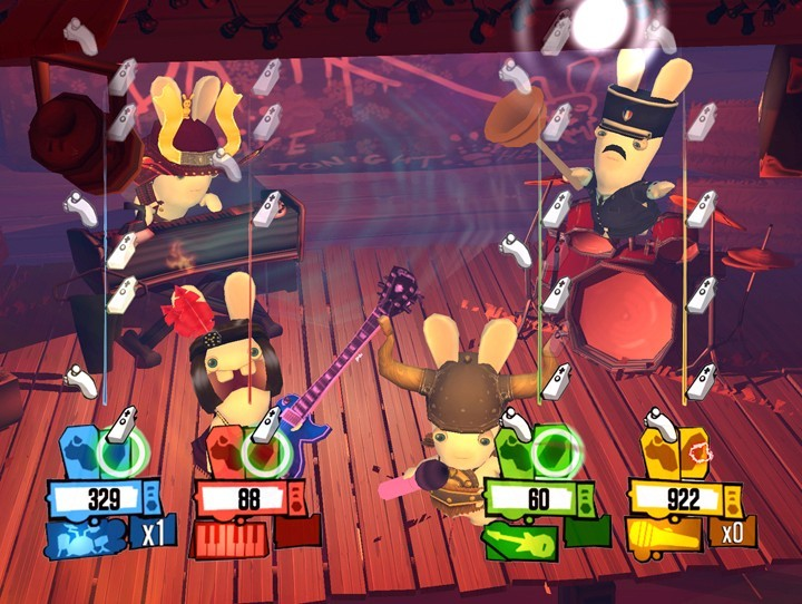 Rayman: Raving Rabbids 2 for Nintendo Wii image