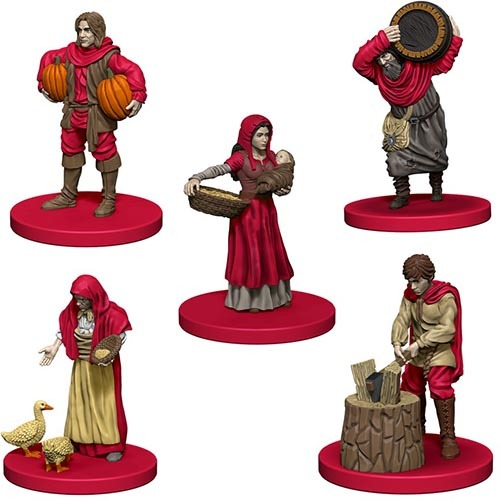 Agricola: Game Piece Expansion - Red image