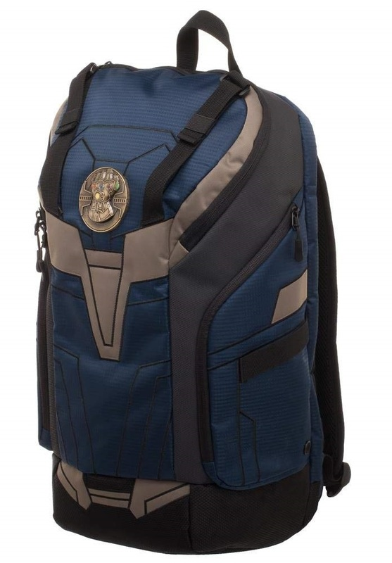 Marvel: Infinity War Thanos Inspired - Rear Zip Backpack