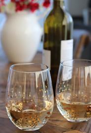 Confetti Stemless Wine Glasses - Set of 4 image
