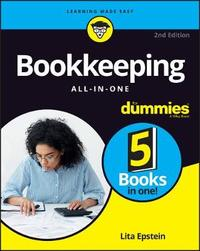 Bookkeeping All In One For Dummies by Lita Epstein
