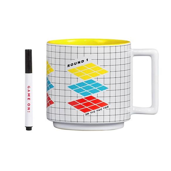 Tic Tac Toe Mug & Pen