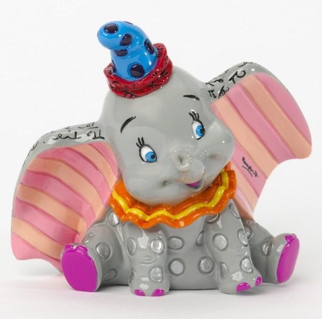Romero Britto Dumbo Mini Figurine