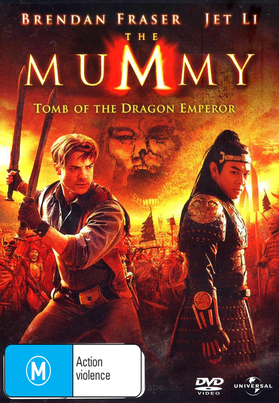 The Mummy - Tomb of the Dragon Emperor on DVD