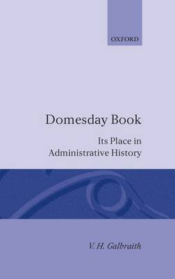 Domesday Book by V H Galbraith image