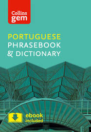 Collins Portuguese Phrasebook and Dictionary Gem Edition by Collins Dictionaries image