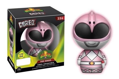 Power Rangers - Pink Ranger (Glow) Dorbz Vinyl Figure image