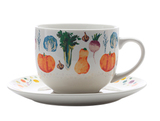 Maxwell & Williams: Food For Thought Soup Cup & Saucer Pumpkin - Gift Boxed (475ml)