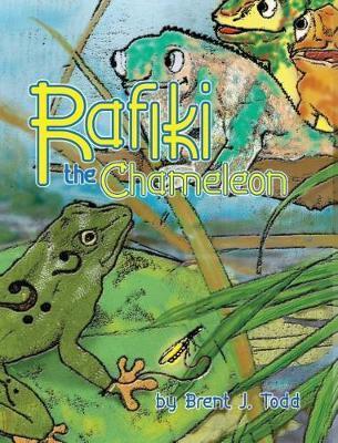 Rafiki the Chameleon by Brent J Todd