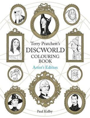 Terry Pratchett's Discworld Colouring Book: Artist's Edition by Paul Kidby