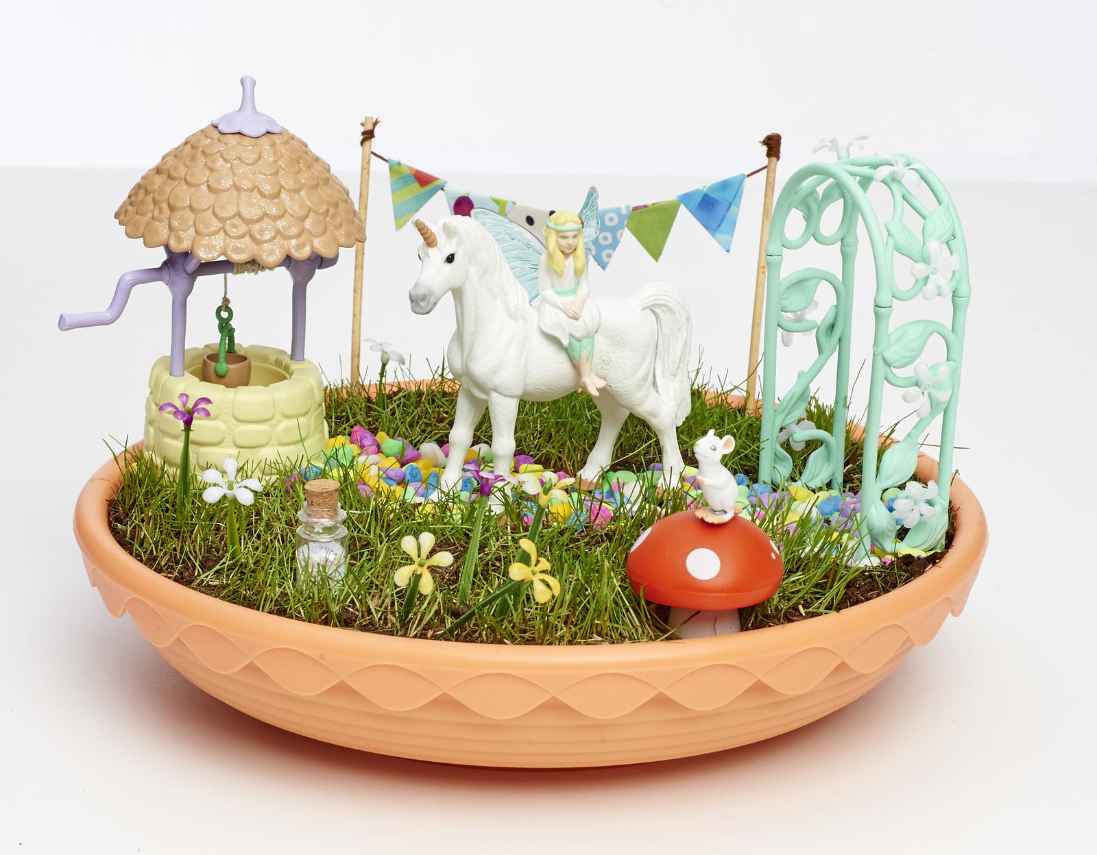 My Fairy Garden - Unicorn Garden image