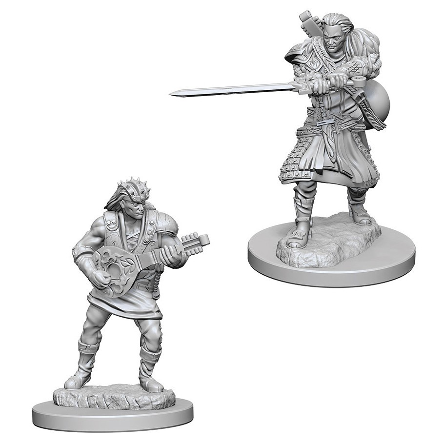 D&D Nolzurs Marvelous: Unpainted Miniatures - Human Male Bard image