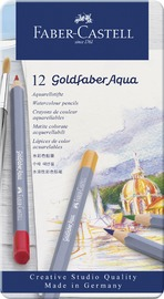 Faber-Castell: Goldfaber Aqua (Tin of 12)