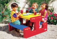 Little Tikes: Large Picnic Table - Primary