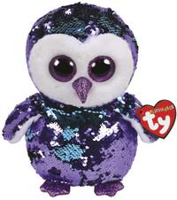 TY Beanie Boo: Flip Moonlight Owl - Medium Plush