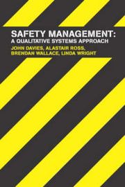 Safety Management: A Quantitative Systems Approach by John Davies image