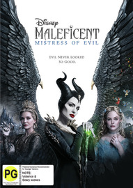 Maleficent: Mistress of Evil on DVD image
