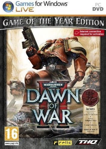 Warhammer 40000: Dawn of War II Game of the Year for PC Games