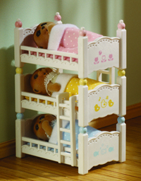 Sylvanian Families: Triple Bunk Beds
