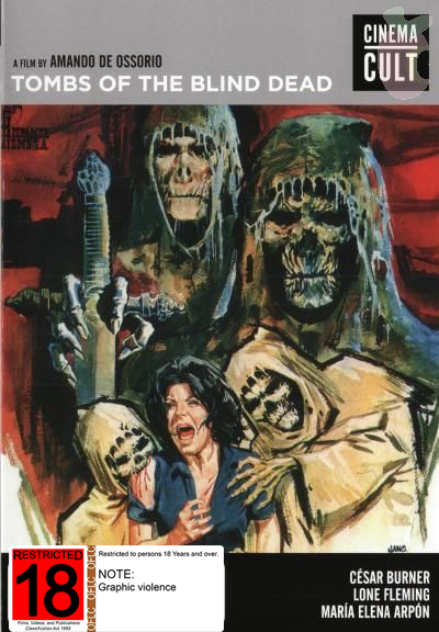 Tombs Of The Blind Dead on DVD