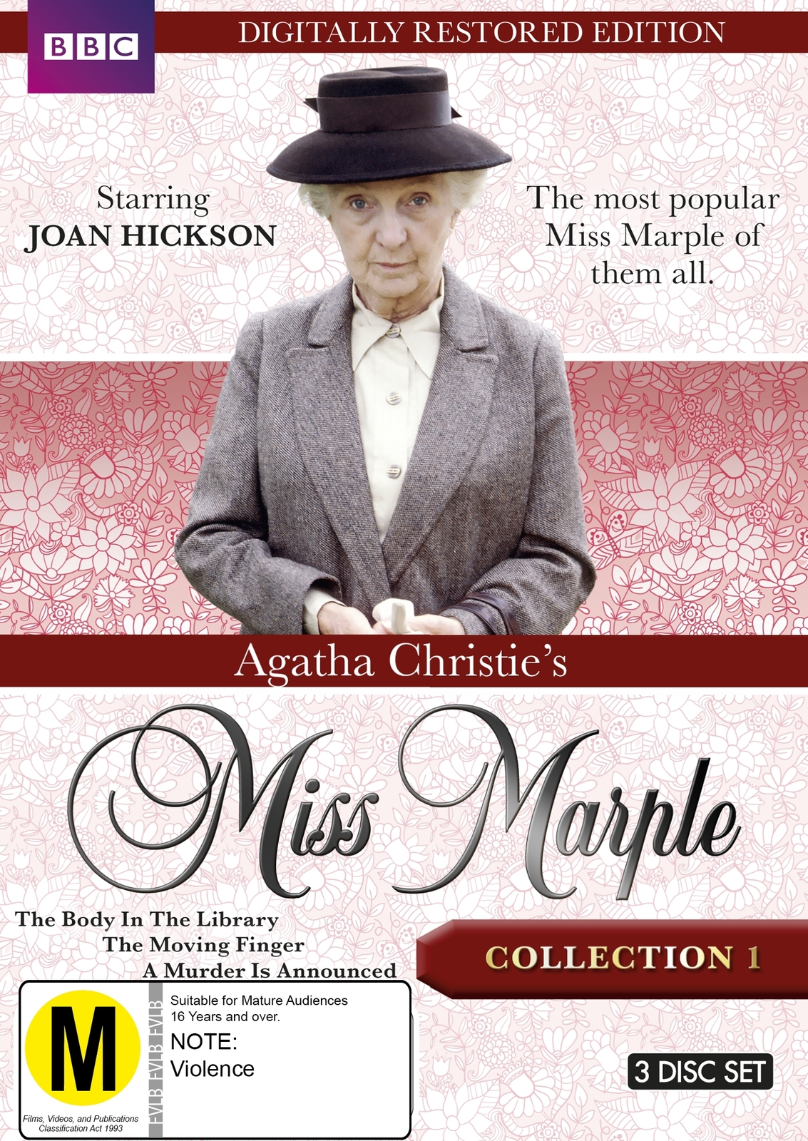Agatha Christie's Miss Marple - Collection 1 (Restored Edition) on DVD image