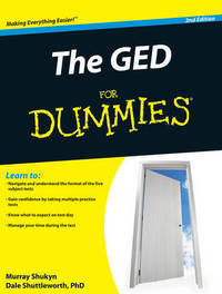The GED For Dummies by Murray Shukyn image