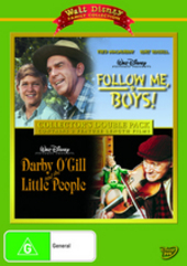 Follow Me, Boys! (1966) / Darby O'Gill And The Little People (1959) - Collector's Double Pack (2 Disc Set) on DVD