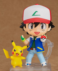 Pokemon: Nendoroid Ash & Pikachu - Articulated Figure