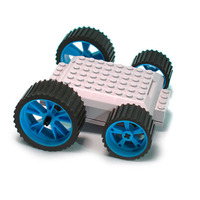 MeeperBot 2.0 - Smart App Controlled Car (Blue)