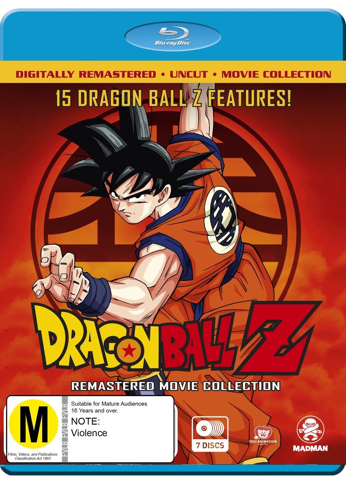 Dragon Ball Z Remastered Movie Collection on Blu-ray image