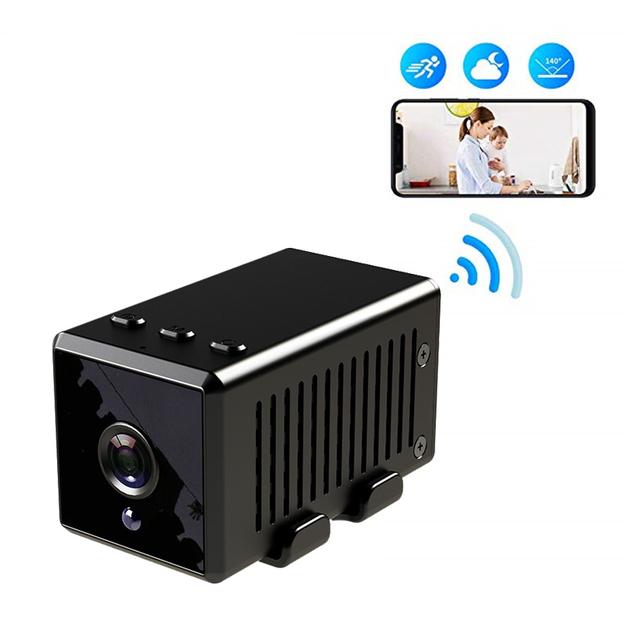 Hidden Camera Wireless,10-Hour Battery Life Portable Mini Spy Camera