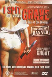 I Spit On Your Grave on DVD