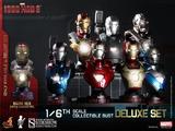 Iron Man 3 Hot Toys 1/6 Busts - SET
