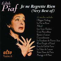 Je Ne Regrette Rien (Very Best of) by Edith Piaf